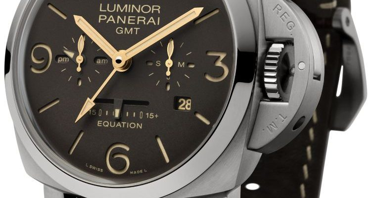 orologio Luminor Equation of Time 8 Days GMT 47 mm – PAM00656
