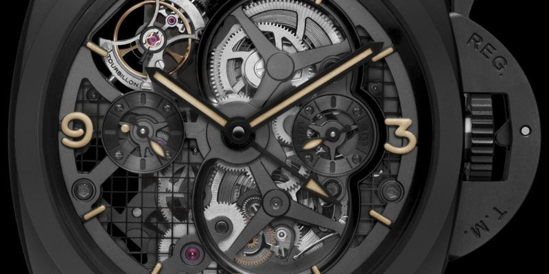 Panerai Lo Scienziato Luminor 1950 Tourbillon GMT 2013 - PAM 528